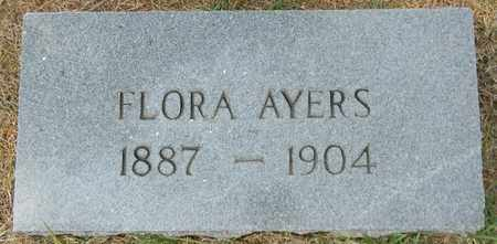 AYERS, FLORA - Marshall County, Alabama | FLORA AYERS - Alabama Gravestone Photos