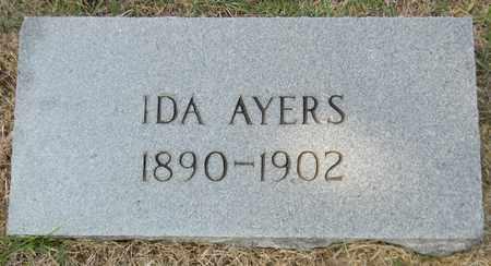 AYERS, IDA - Marshall County, Alabama | IDA AYERS - Alabama Gravestone Photos