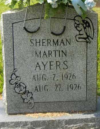AYERS, SHERMAN MARTIN - Marshall County, Alabama | SHERMAN MARTIN AYERS - Alabama Gravestone Photos