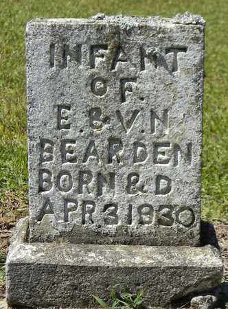 BEARDEN, INFANT - Marshall County, Alabama | INFANT BEARDEN - Alabama Gravestone Photos