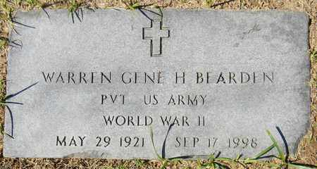 BEARDEN (VETERAN WWII), WARREN GENE HARDING - Marshall County, Alabama | WARREN GENE HARDING BEARDEN (VETERAN WWII) - Alabama Gravestone Photos
