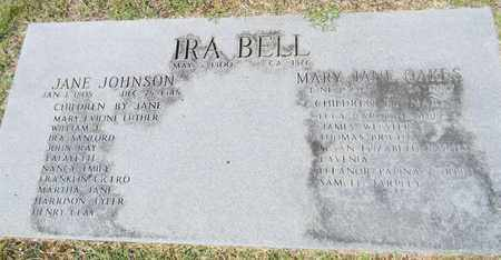 BELL, IRA - Marshall County, Alabama | IRA BELL - Alabama Gravestone Photos