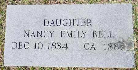 BELL, NANCY EMILY - Marshall County, Alabama | NANCY EMILY BELL - Alabama Gravestone Photos