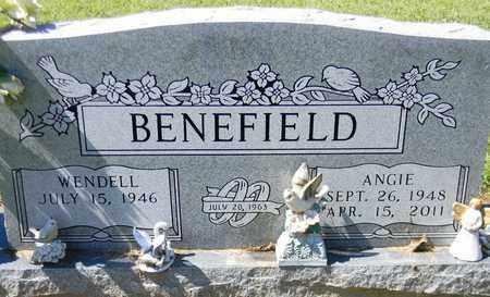 BENEFIELD, ANGIE - Marshall County, Alabama | ANGIE BENEFIELD - Alabama Gravestone Photos