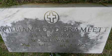 BRAMLETT (VETERAN WWII), WILLIAM BOYD - Marshall County, Alabama | WILLIAM BOYD BRAMLETT (VETERAN WWII) - Alabama Gravestone Photos