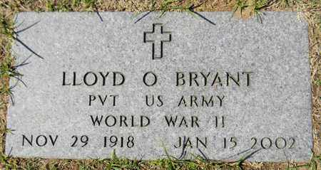 BRYANT (VETERAN WWII), LLOYD O - Marshall County, Alabama   LLOYD O BRYANT (VETERAN WWII) - Alabama Gravestone Photos