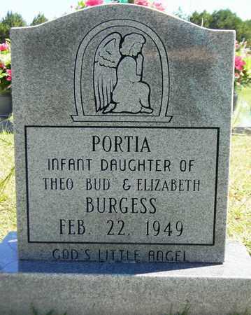 BURGESS, PORTIA - Marshall County, Alabama | PORTIA BURGESS - Alabama Gravestone Photos