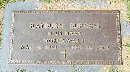 BURGESS (VETERAN WWII), RAYBURN - Marshall County, Alabama | RAYBURN BURGESS (VETERAN WWII) - Alabama Gravestone Photos