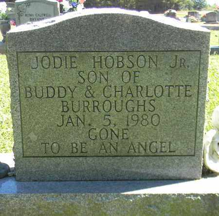 BURROUGHS, JR, JODIE HOBSON - Marshall County, Alabama | JODIE HOBSON BURROUGHS, JR - Alabama Gravestone Photos