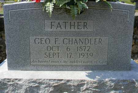 CHANDLER, GEORGE F - Marshall County, Alabama | GEORGE F CHANDLER - Alabama Gravestone Photos