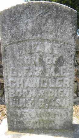 CHANDLER, INFANT - Marshall County, Alabama | INFANT CHANDLER - Alabama Gravestone Photos