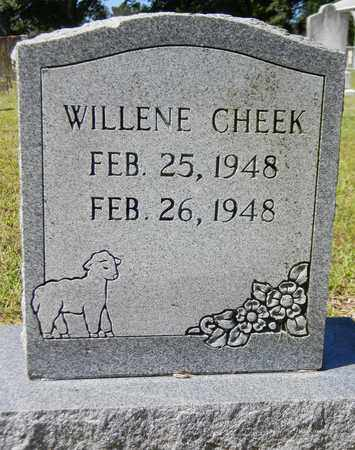 CHEEK, WILLENE - Marshall County, Alabama   WILLENE CHEEK - Alabama Gravestone Photos