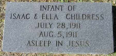 CHILDRESS, INFANT - Marshall County, Alabama | INFANT CHILDRESS - Alabama Gravestone Photos