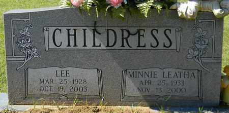 CHILDRESS, LEE - Marshall County, Alabama | LEE CHILDRESS - Alabama Gravestone Photos