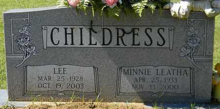 CHILDRESS, MINNIE LEATHA - Marshall County, Alabama | MINNIE LEATHA CHILDRESS - Alabama Gravestone Photos