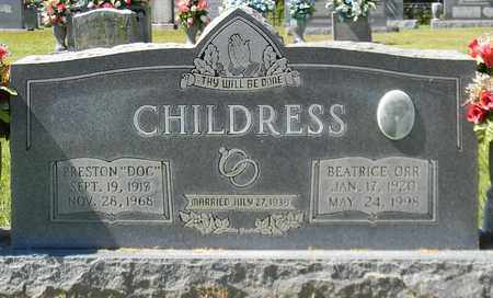 ORR CHILDRESS, BEATRICE - Marshall County, Alabama   BEATRICE ORR CHILDRESS - Alabama Gravestone Photos