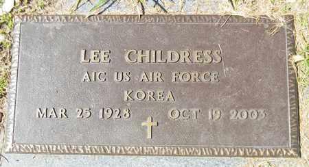 CHILDRESS (VETERAN KOR), LEE - Marshall County, Alabama | LEE CHILDRESS (VETERAN KOR) - Alabama Gravestone Photos