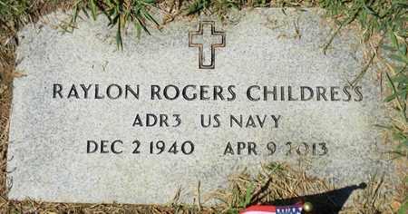 CHILDRESS (VETERAN), RAYLON ROGERS - Marshall County, Alabama | RAYLON ROGERS CHILDRESS (VETERAN) - Alabama Gravestone Photos