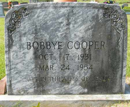 COOPER, BOBBYE - Marshall County, Alabama | BOBBYE COOPER - Alabama Gravestone Photos