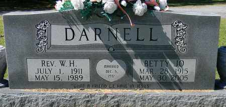 DARNELL, REV, W H - Marshall County, Alabama   W H DARNELL, REV - Alabama Gravestone Photos