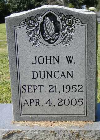 DUNCAN, JOHN W - Marshall County, Alabama | JOHN W DUNCAN - Alabama Gravestone Photos