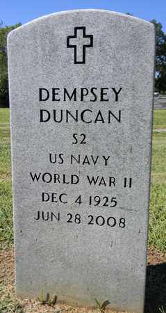DUNCAN (VETERAN WWII), DEMPSEY - Marshall County, Alabama | DEMPSEY DUNCAN (VETERAN WWII) - Alabama Gravestone Photos