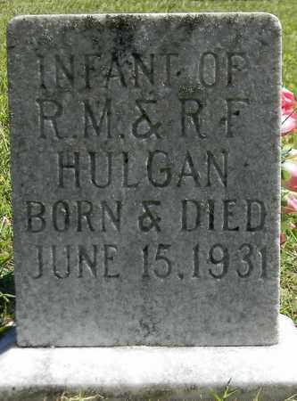 HULGAN, INFANT - Marshall County, Alabama | INFANT HULGAN - Alabama Gravestone Photos