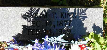 KING, EPHRIM T - Marshall County, Alabama | EPHRIM T KING - Alabama Gravestone Photos
