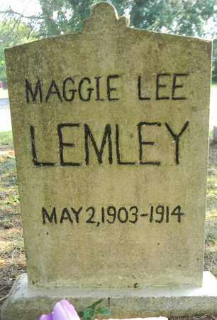 LEMLEY, MAGGIE LEE - Marshall County, Alabama | MAGGIE LEE LEMLEY - Alabama Gravestone Photos