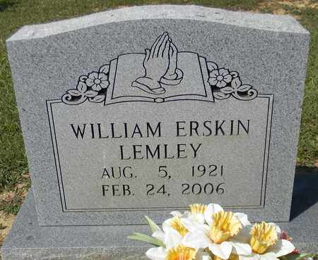 LEMLEY, WILLIAM ERSKIN - Marshall County, Alabama | WILLIAM ERSKIN LEMLEY - Alabama Gravestone Photos