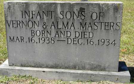 MASTERS, INFANT 2 - Marshall County, Alabama   INFANT 2 MASTERS - Alabama Gravestone Photos