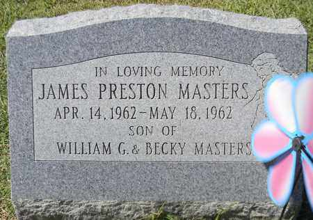 MASTERS, JAMES PRESTON - Marshall County, Alabama | JAMES PRESTON MASTERS - Alabama Gravestone Photos