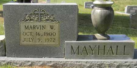 MAYHALL, MARVIN W - Marshall County, Alabama | MARVIN W MAYHALL - Alabama Gravestone Photos