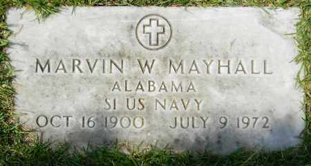 MAYHALL (VETERAN), MARVIN W - Marshall County, Alabama | MARVIN W MAYHALL (VETERAN) - Alabama Gravestone Photos