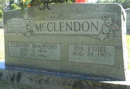 MCCLENDON, CLENTON BRADFORD - Marshall County, Alabama   CLENTON BRADFORD MCCLENDON - Alabama Gravestone Photos
