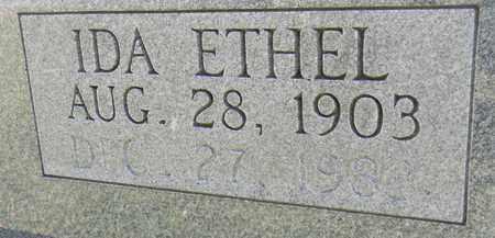MCCLENDON (CLOSEUP), IDA ETHEL - Marshall County, Alabama   IDA ETHEL MCCLENDON (CLOSEUP) - Alabama Gravestone Photos