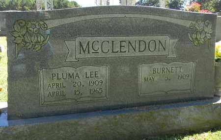 MCCLENDON, BURNETT - Marshall County, Alabama | BURNETT MCCLENDON - Alabama Gravestone Photos