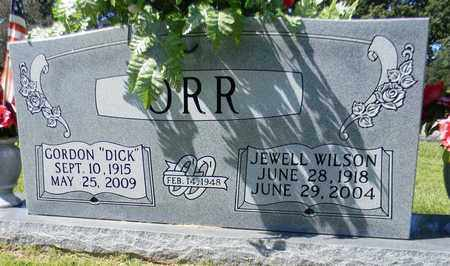 "ORR, GORDON ""DICK"" - Marshall County, Alabama 