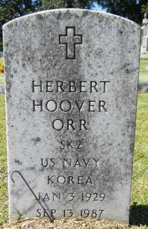 ORR (VETERAN KOR), HERBERT HOOVER - Marshall County, Alabama | HERBERT HOOVER ORR (VETERAN KOR) - Alabama Gravestone Photos