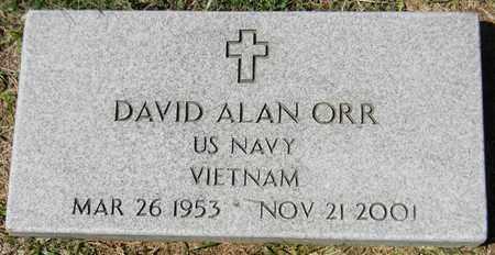 ORR (VETERAN VIET), DAVID ALAN - Marshall County, Alabama | DAVID ALAN ORR (VETERAN VIET) - Alabama Gravestone Photos