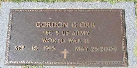 ORR (VETERAN WWII), GORDON G - Marshall County, Alabama | GORDON G ORR (VETERAN WWII) - Alabama Gravestone Photos