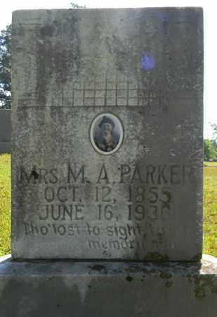 PARKER, M A - Marshall County, Alabama | M A PARKER - Alabama Gravestone Photos