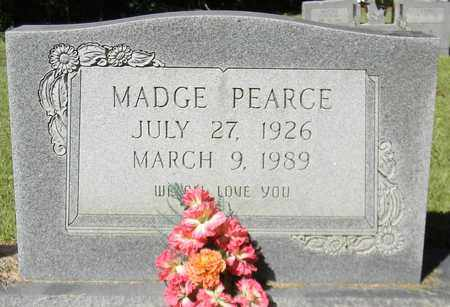 PEARCE, MADGE - Marshall County, Alabama | MADGE PEARCE - Alabama Gravestone Photos
