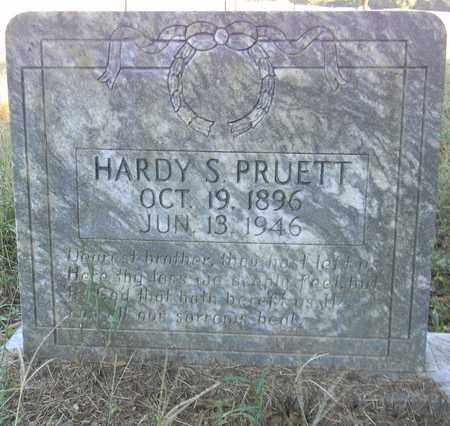 PRUETT, HARDY S - Marshall County, Alabama | HARDY S PRUETT - Alabama Gravestone Photos