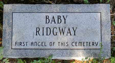 RIDGWAY, BABY - Marshall County, Alabama | BABY RIDGWAY - Alabama Gravestone Photos