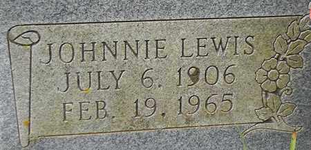 SHUMATE (CLOSEUP), JOHNNIE LEWIS - Marshall County, Alabama | JOHNNIE LEWIS SHUMATE (CLOSEUP) - Alabama Gravestone Photos