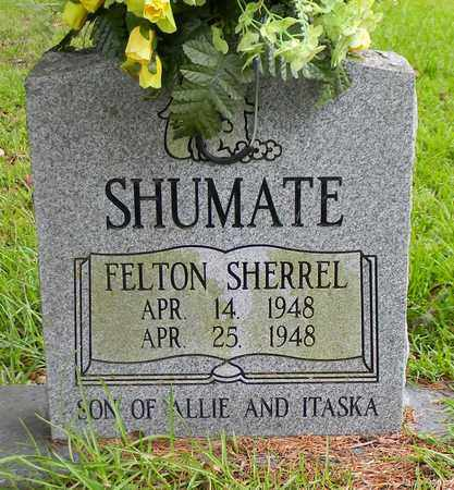 SHUMATE, FELTON SHERREL - Marshall County, Alabama | FELTON SHERREL SHUMATE - Alabama Gravestone Photos