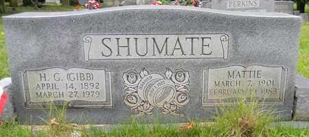 SHUMATE, H G - Marshall County, Alabama | H G SHUMATE - Alabama Gravestone Photos