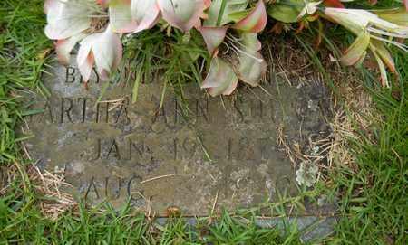 SHUMATE, MARTHA ANN - Marshall County, Alabama | MARTHA ANN SHUMATE - Alabama Gravestone Photos