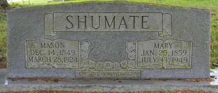SHUMATE, MASON - Marshall County, Alabama | MASON SHUMATE - Alabama Gravestone Photos
